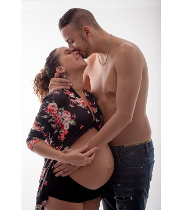 Shooting Photo Future Maman en Studio