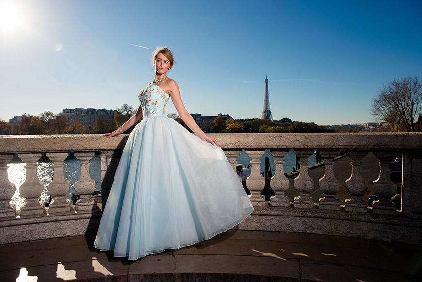 shooting photo au pont alexandre III