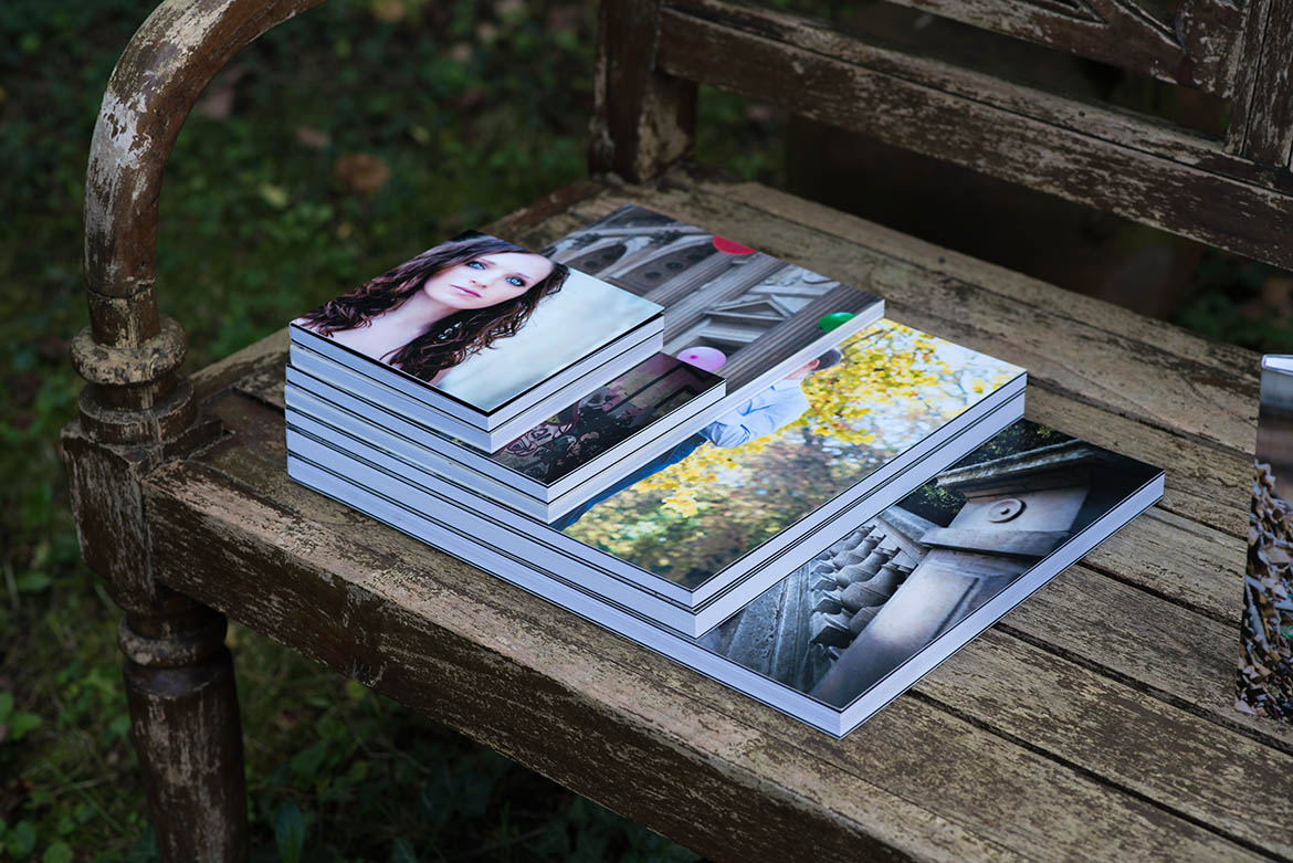 Divers formats de livre photo disponibles